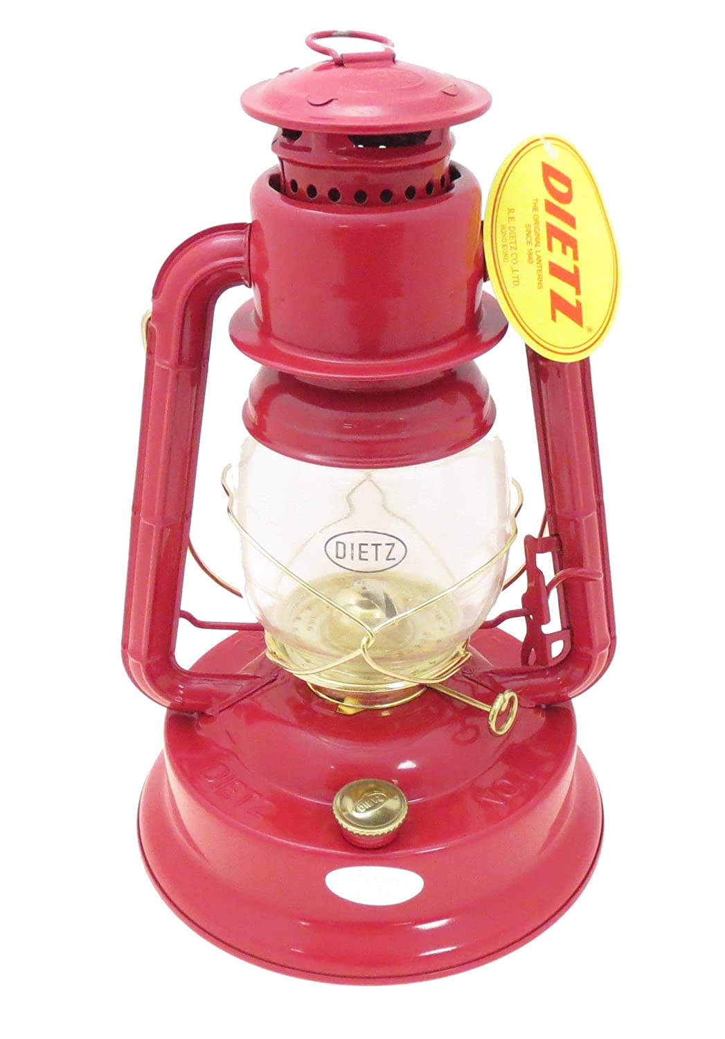 Dietz 1 Little Wizard Oil Lamp Burning Lantern Blue