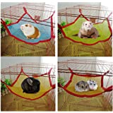 Wildgirl Pet Hamster Small Animals Breathable Meshed Hanging Bed Hammock