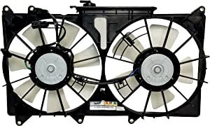 Automotive Cooling Radiator And Condenser Fan For Lexus IS300 LX3115108 100% Tested