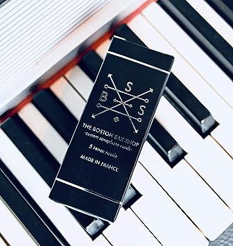 #3 box of 10 Boston Sax Shop Custom Alto Saxophone Reeds