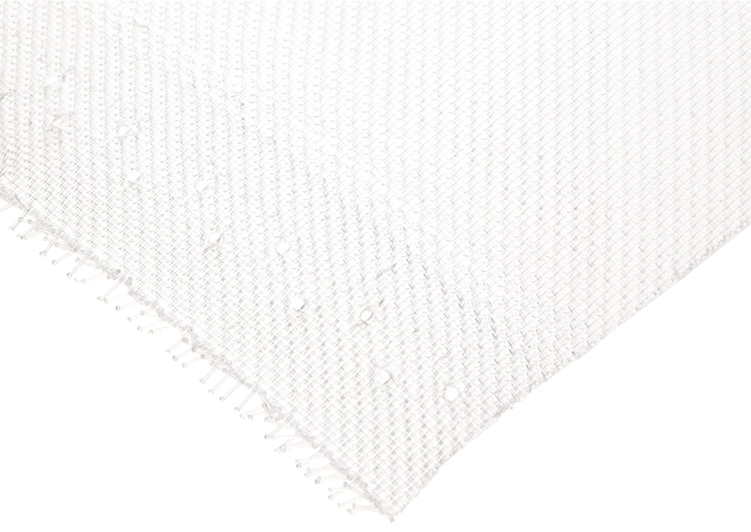405 microns Mesh Size 12 Length Pack of 5 Opaque White Mesh Sheet 12 Width 41/% Open Area PP Polypropylene