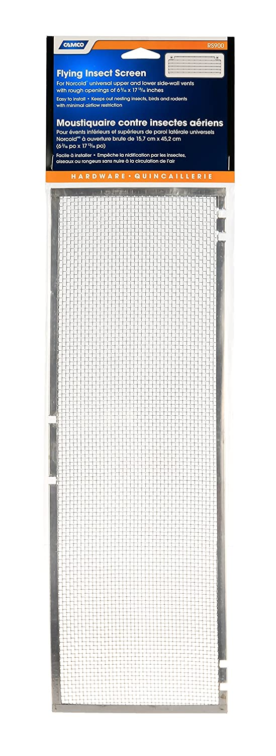 Camco 42156 Flying Insect Screen for Norcold Refrigerator Vent