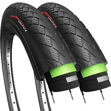 Fincci Par Carretera montaña híbrida neumático para Bicicleta Cubiertas 700 x 35 с 37-622: Amazon.es: Deportes y aire libre