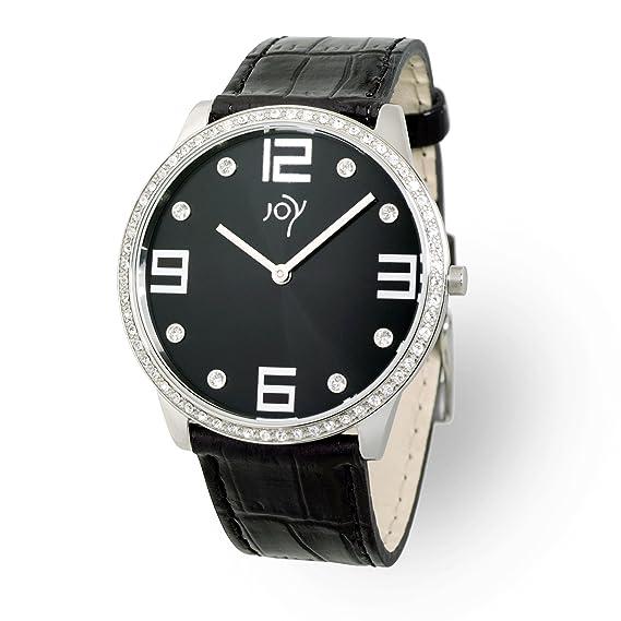 Joy Rectangulares JW550 - Reloj de mujer de cuarzo (suizo), correa de piel