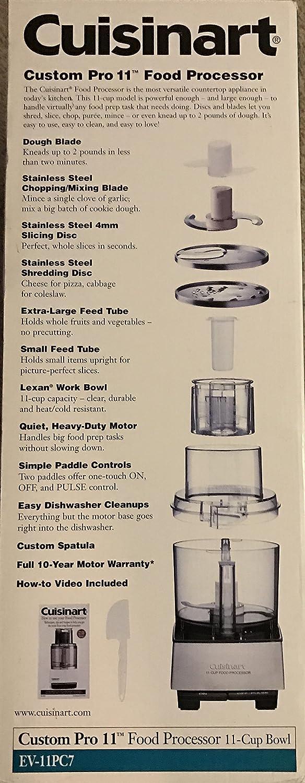 Cuisinart Pro Custom 11 Cup Food Processor by Cusinart: Amazon.de ...
