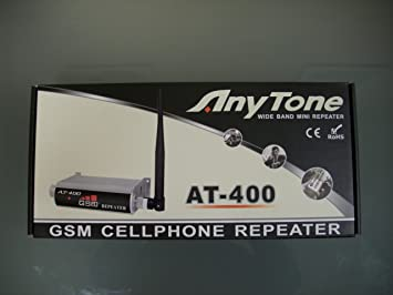 AnyTone AT-400 - Repetidor y amplificador de red GSM - D2 Vodafone