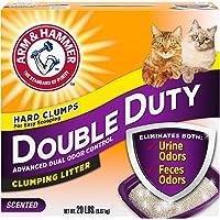 Double duty clumping cat litter 9.7 kg