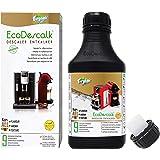 EcoDescalk Biologico Concentrato (9 Decalcificazioni). Decalcificante 100% Naturale. Detergente per Macchine da caffè. Tutte Le Marche: Bosch, Nespresso, DeLonghi, Tassimo, Krups. Prodotto CE.