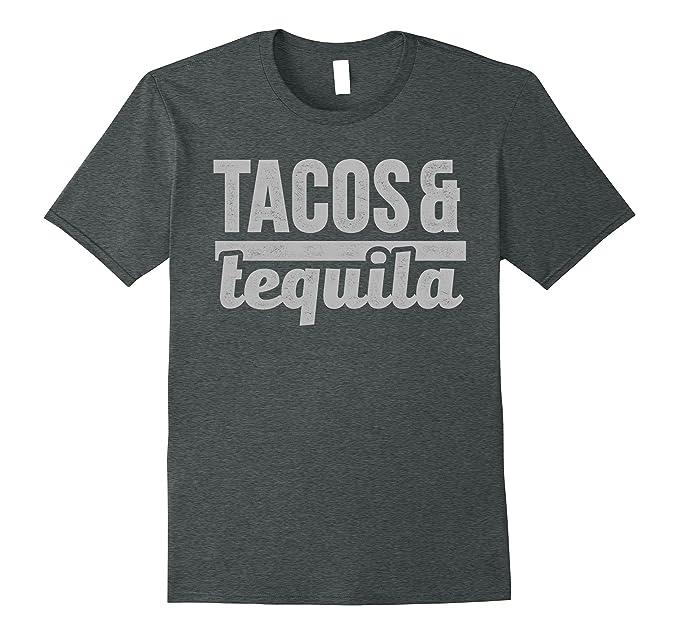 2d174e80 Amazon.com: Tacos & Tequila T Shirt Taco Mexico Holidays De Mayo: Clothing
