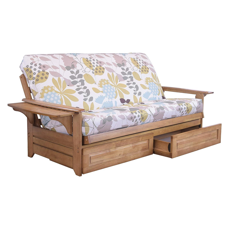 Amazon.com: Northland Futon - Cajones y marco de madera ...