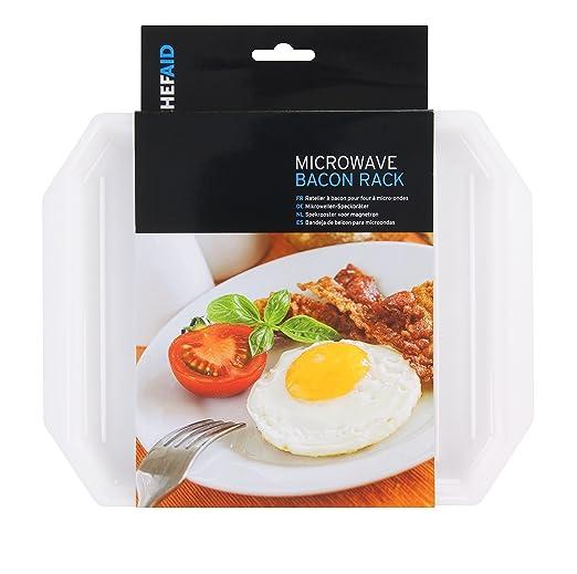 Chef Aid - Microondas Bacon Accesorio de: Amazon.es: Hogar
