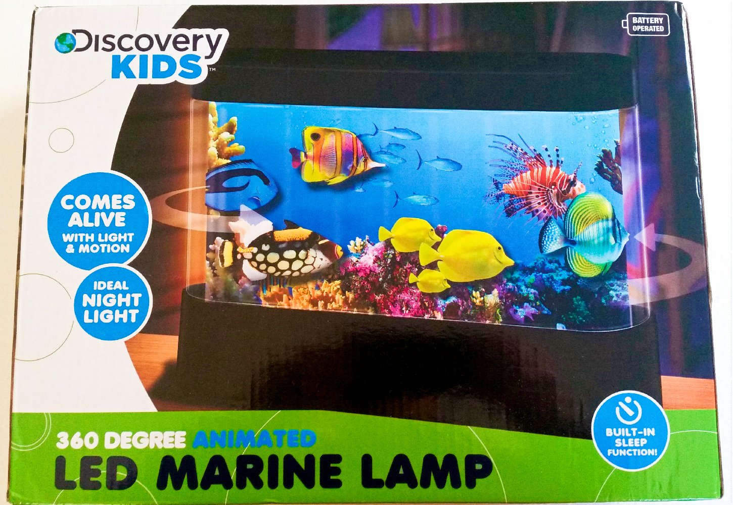 Fish tank night light - Amazon Com Discovery Kids Animated Tropical Fish Marine Aquarium Lamp With Auto Shut Off Toys Games