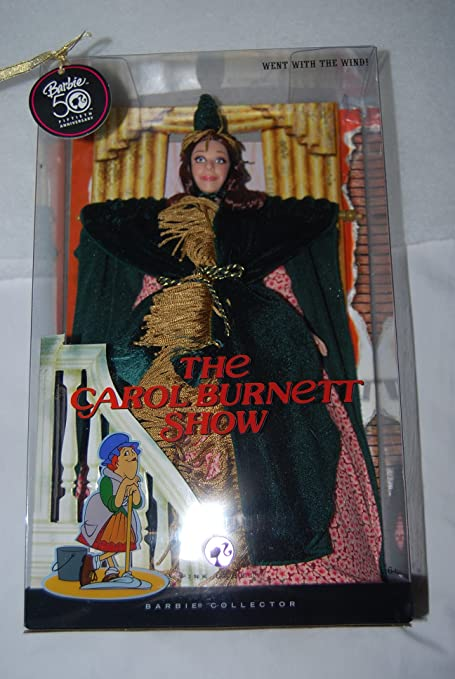 Amazon Com The Carol Burnett Show Went With The Wind Barbie Doll