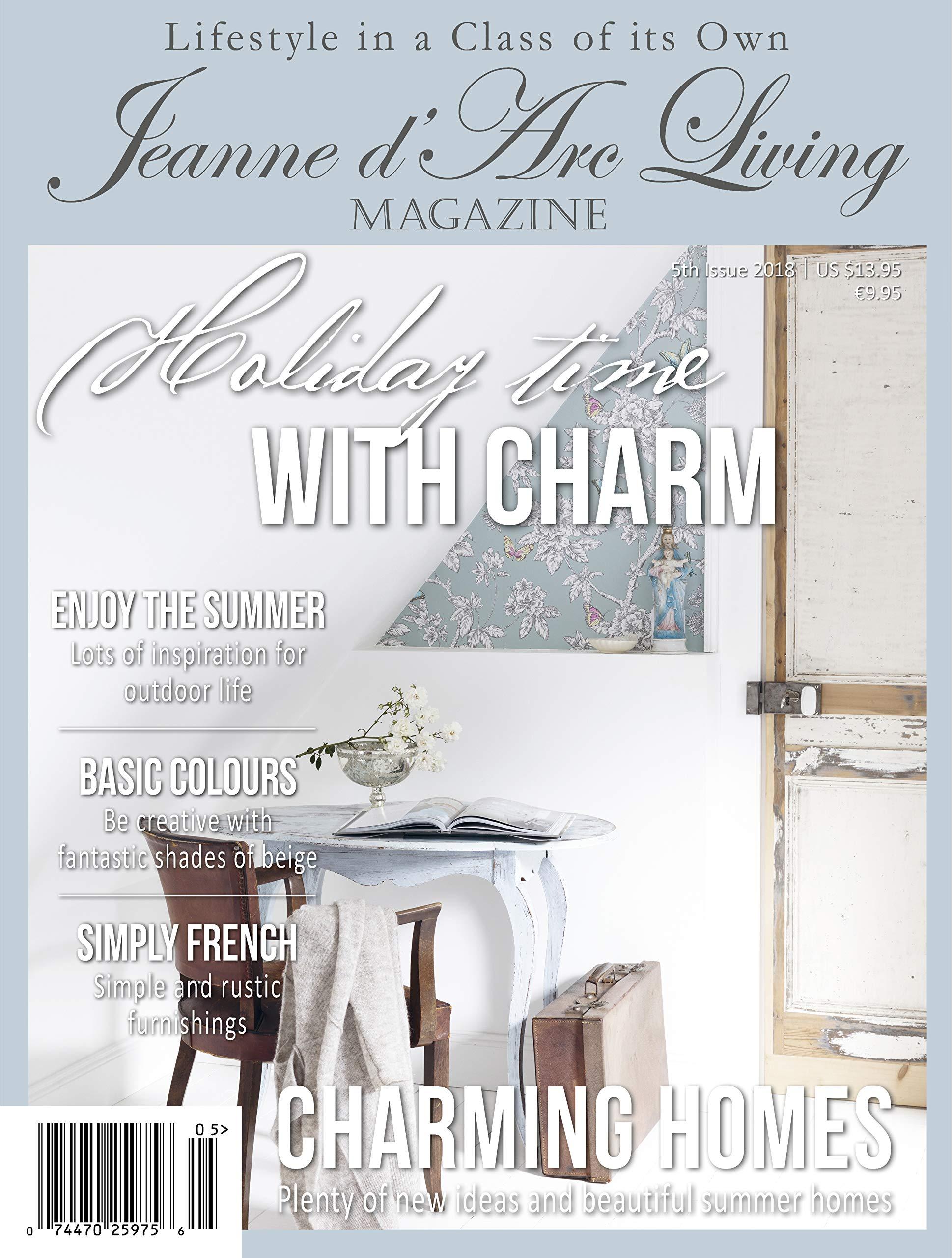 Jeanne d'arc Living magazine.