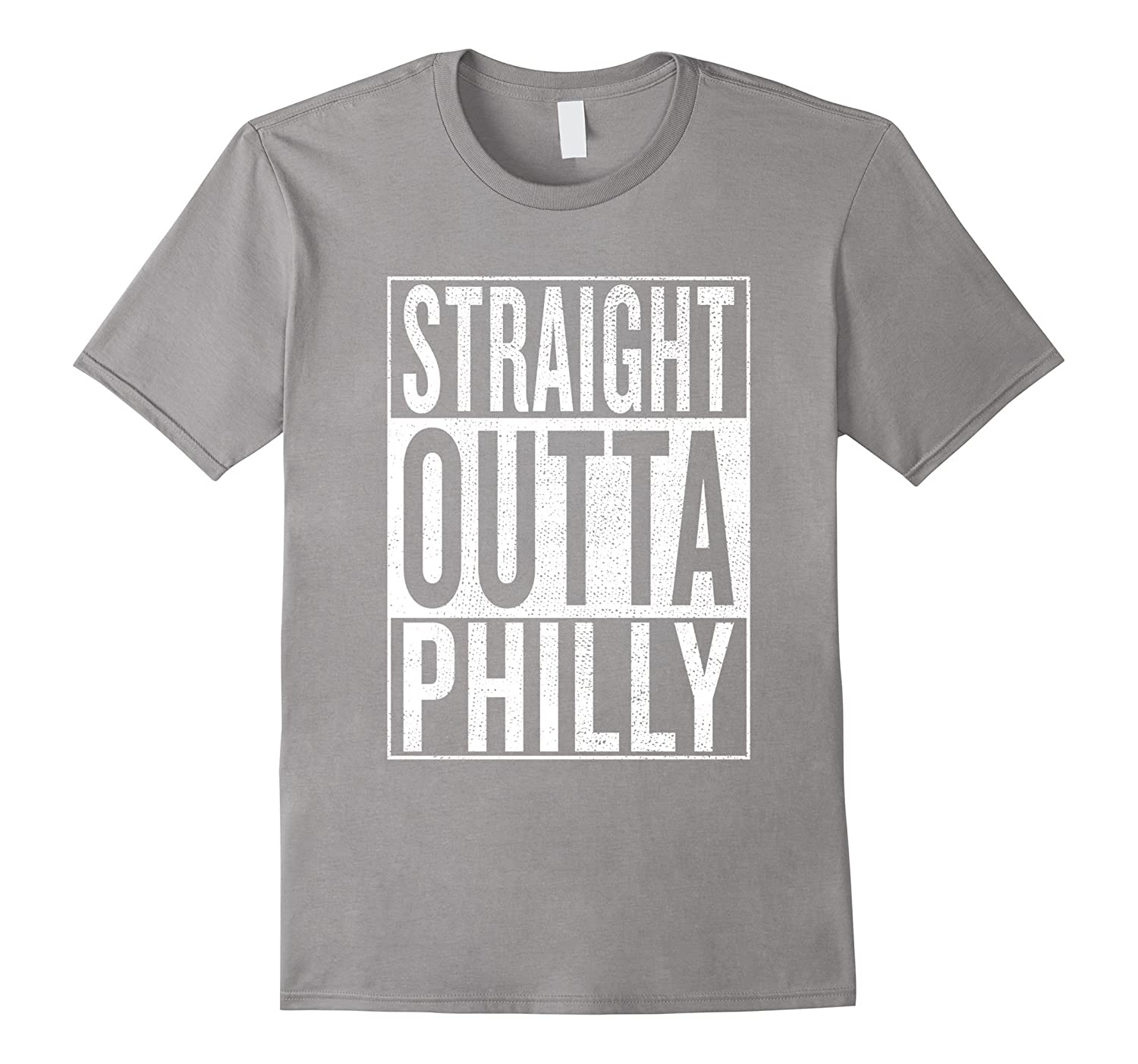 Straight Outta Philly Great Travel & Gift Idea T-Shirt-BN