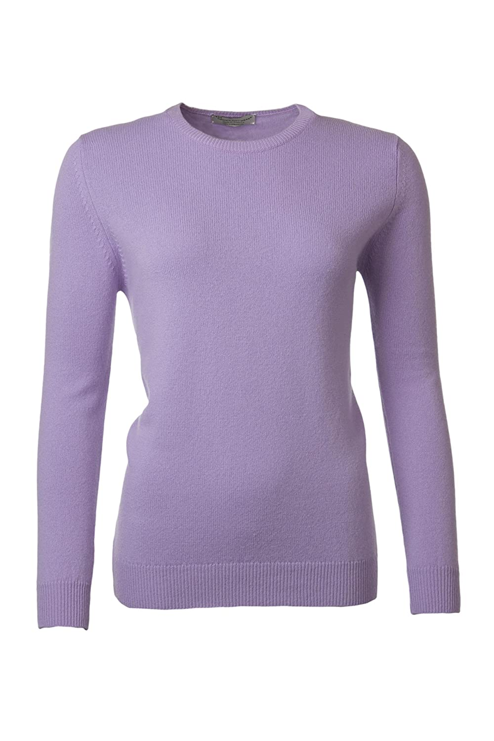 78af00808b Great   British Knitwear Ladies HL105 100% Lambswool Plain Round Neck  Sweater. Made in Scotland at Amazon Women s Clothing store