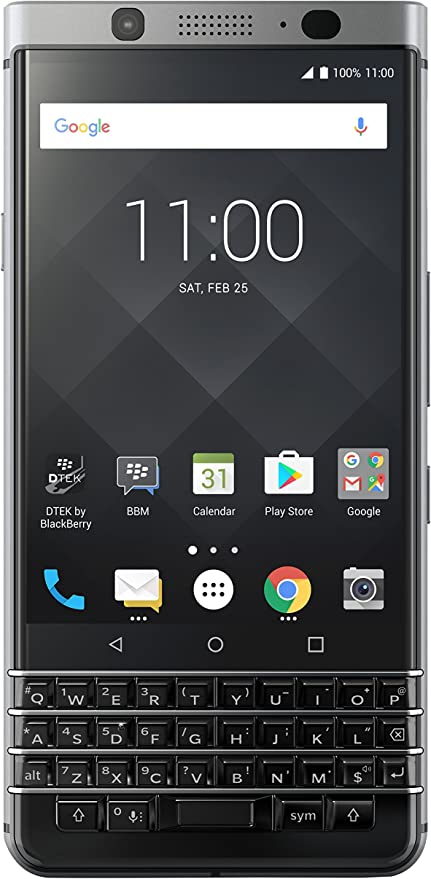 BlackBerry KEYone 4G 32GB Negro, Plata: Amazon.es: Electrónica