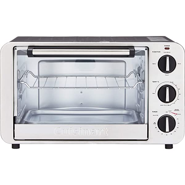 Cuisinart TOB-1010 Toaster Oven Broiler 14 x 15.75 x 14 Silver