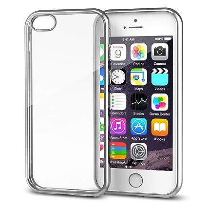 Amazon.com: Carcasa para iPhone SE., Plateado: Splaks Direct