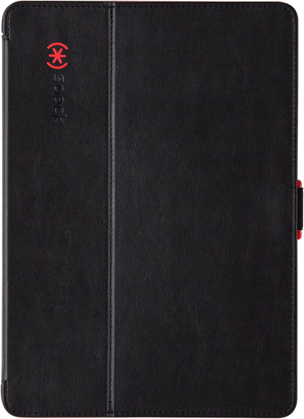 Speck Products StyleFolio Case & Stand for iPad Air 1 ONLY, Black/Poppy Red
