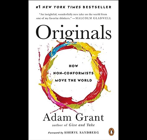 Originals How Non Conformists Move The World English Edition Kindle商店 亚马逊中国