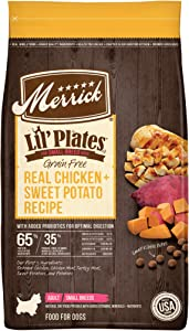 Merrick Lil Plates Small Breed Dry Dog Food with Real Meat