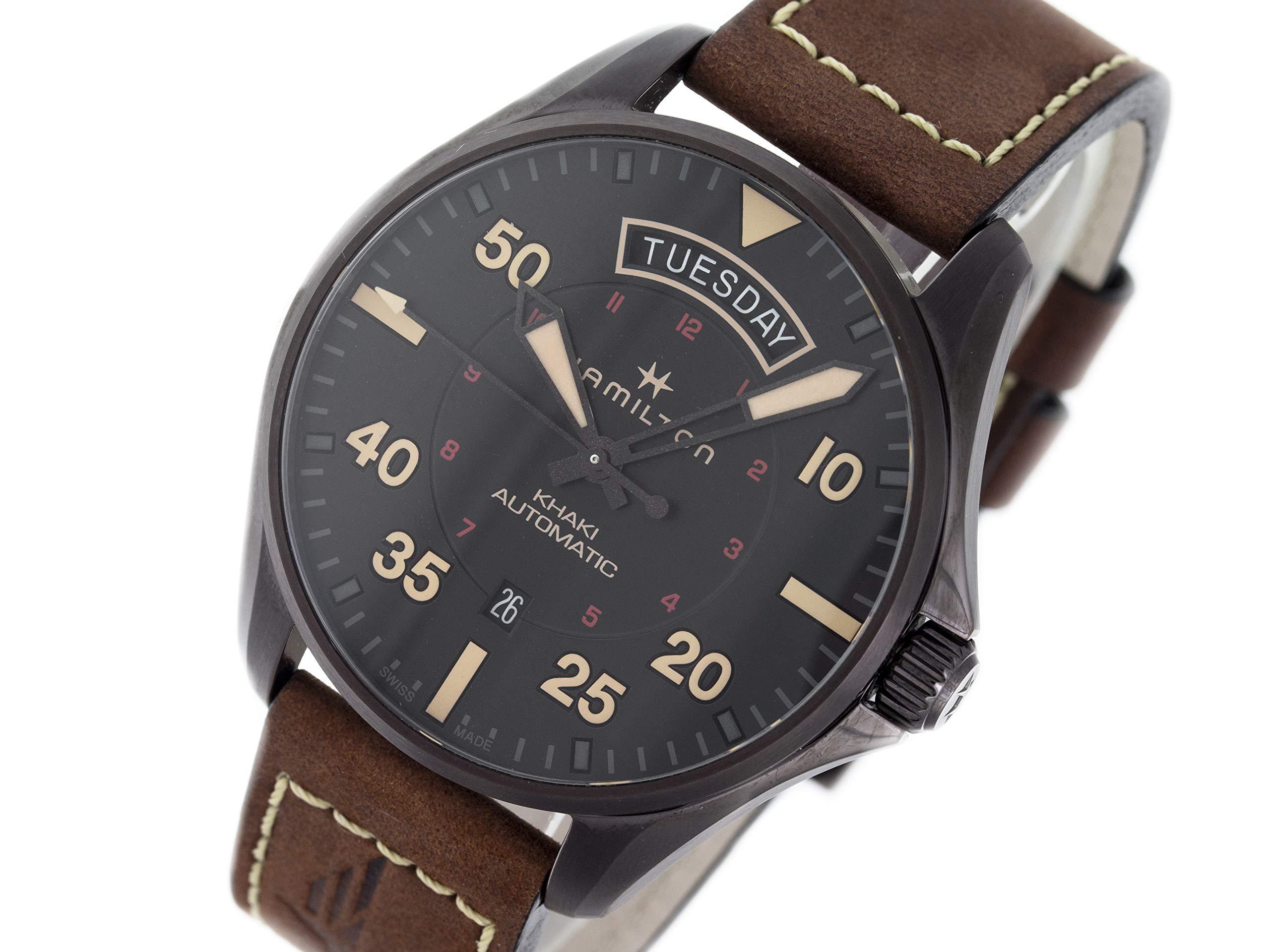 Hamilton Khaki Pilot Automatic-self-Wind Male Watch H64605531 (Certified Pre-Owned)