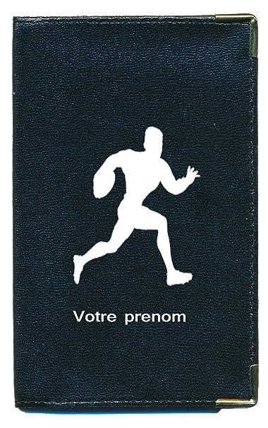 Sylla - Funda para tarjetas y permiso de conducir, Arc personnalise avec votre nom (negro) - cg-arcnom: Amazon.es: Equipaje