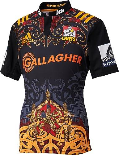 adidas Chiefs doméstica/Camiseta de Rugby réplica: Amazon.es: Ropa ...
