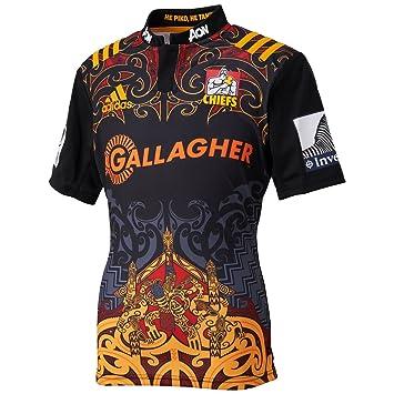 Adidas Chiefs doméstica/Camiseta de Rugby réplica Scarle/Black Talla:XS: Amazon.es: Deportes y aire libre