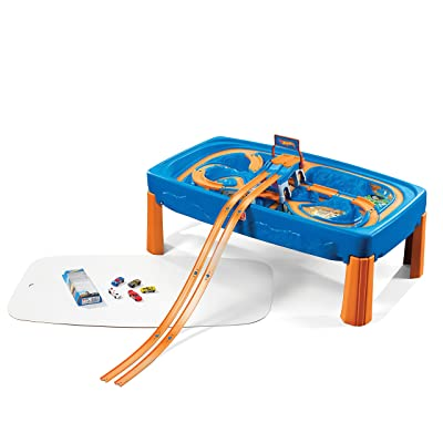 Step2 Hot Wheels Car & Track Play Table: Toys & Games