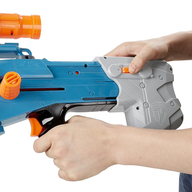 Hasbro Nerf A9546EU50 - Zombie Zombie Zombie Strike Longshot CS-12, Spielzeugblaster 502a13