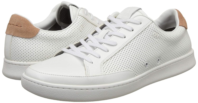 Aldo Men's Aluer White Leather Sneakers