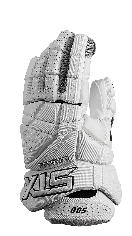 ラクロスSTX Surgeon 500 Gloves with気候コントロール ホワイト 13