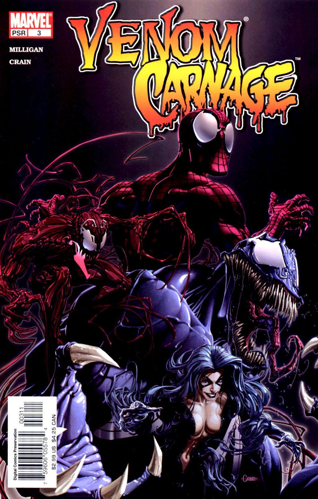 Venom Vs  Carnage, #3 (Comic Book): Peter Milligan: Amazon