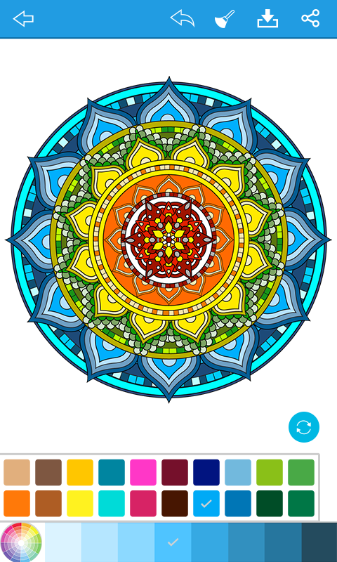 Amazon Mandala Coloring For Adults Appstore Android