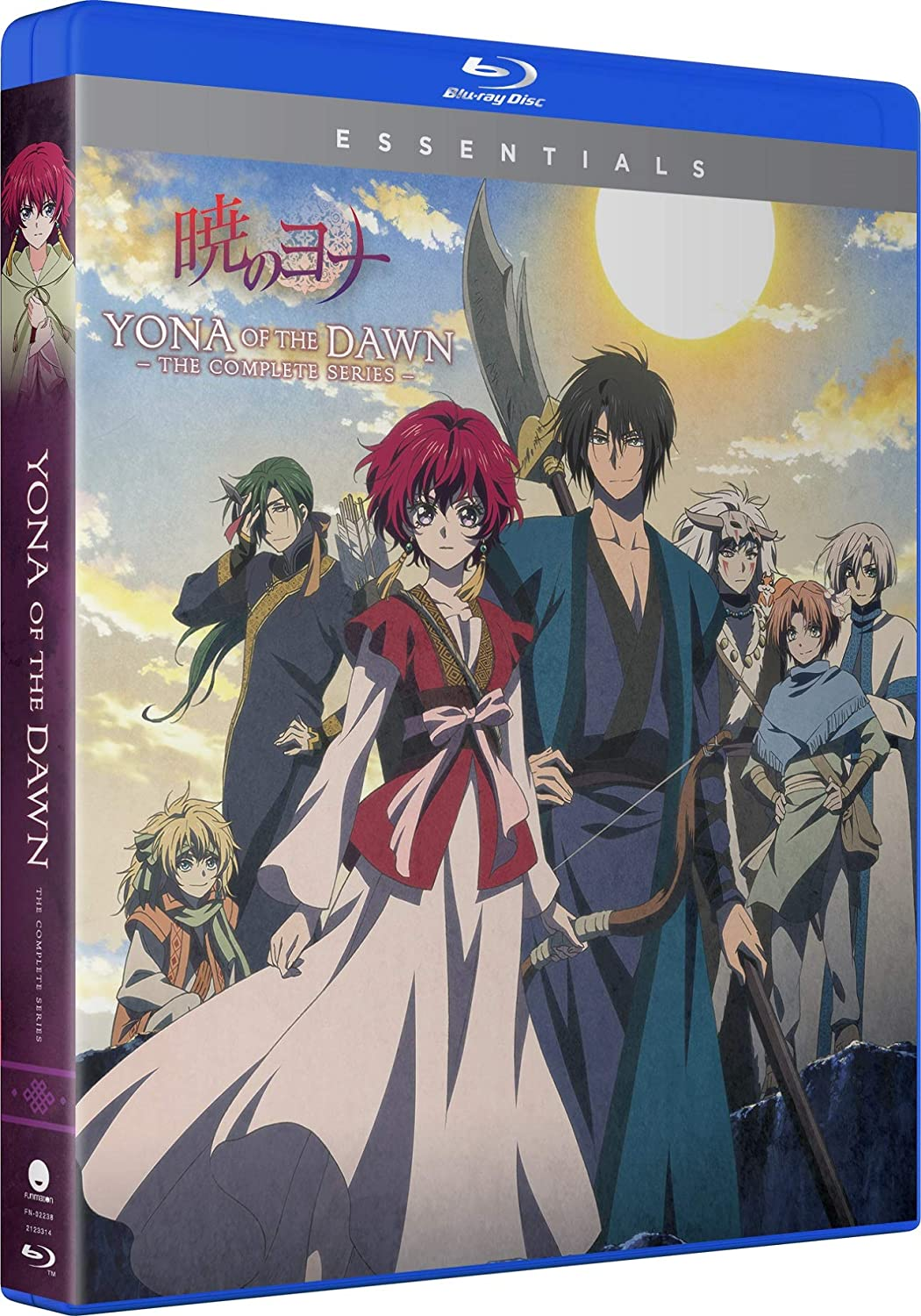Yona of the Dawn Complete Series Essentials Blu-ray (Dual Audio)