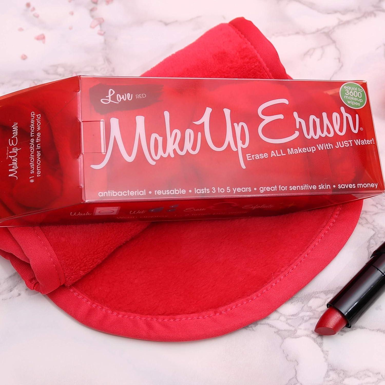 Amazon.com: Goma de borrar de maquillaje, Rojo: Makeup ...