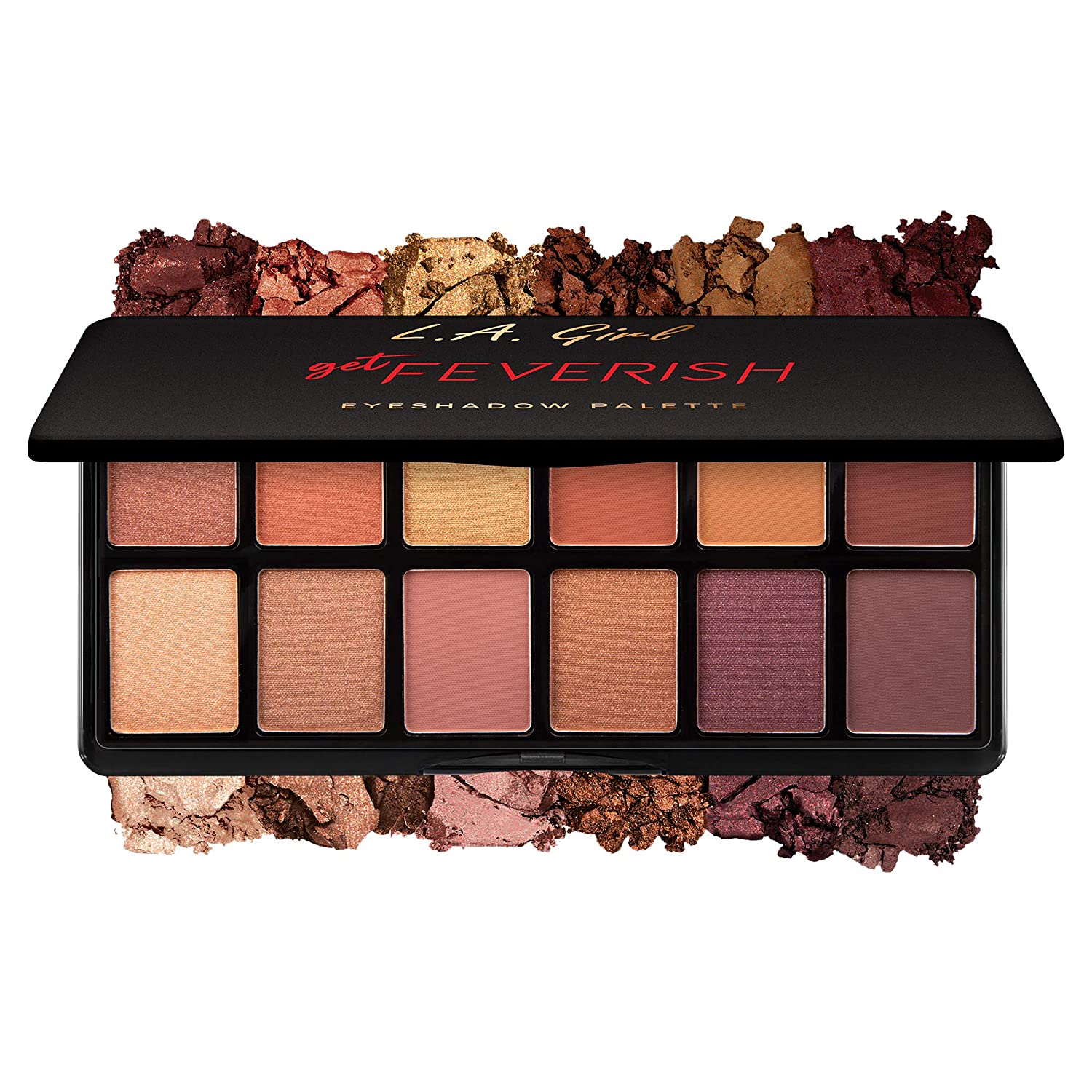 L.A Girl Fanatic Eyeshadow Palette - Best Matte Eyeshadow Palette Drugstore