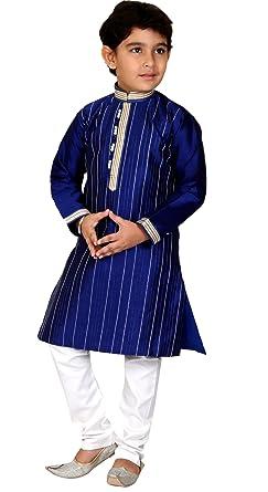 2e338c5f4 Party wear Boys Kurta Pajama Indian pakistani kids sherwani suit shalwar  kameez (10 - 10