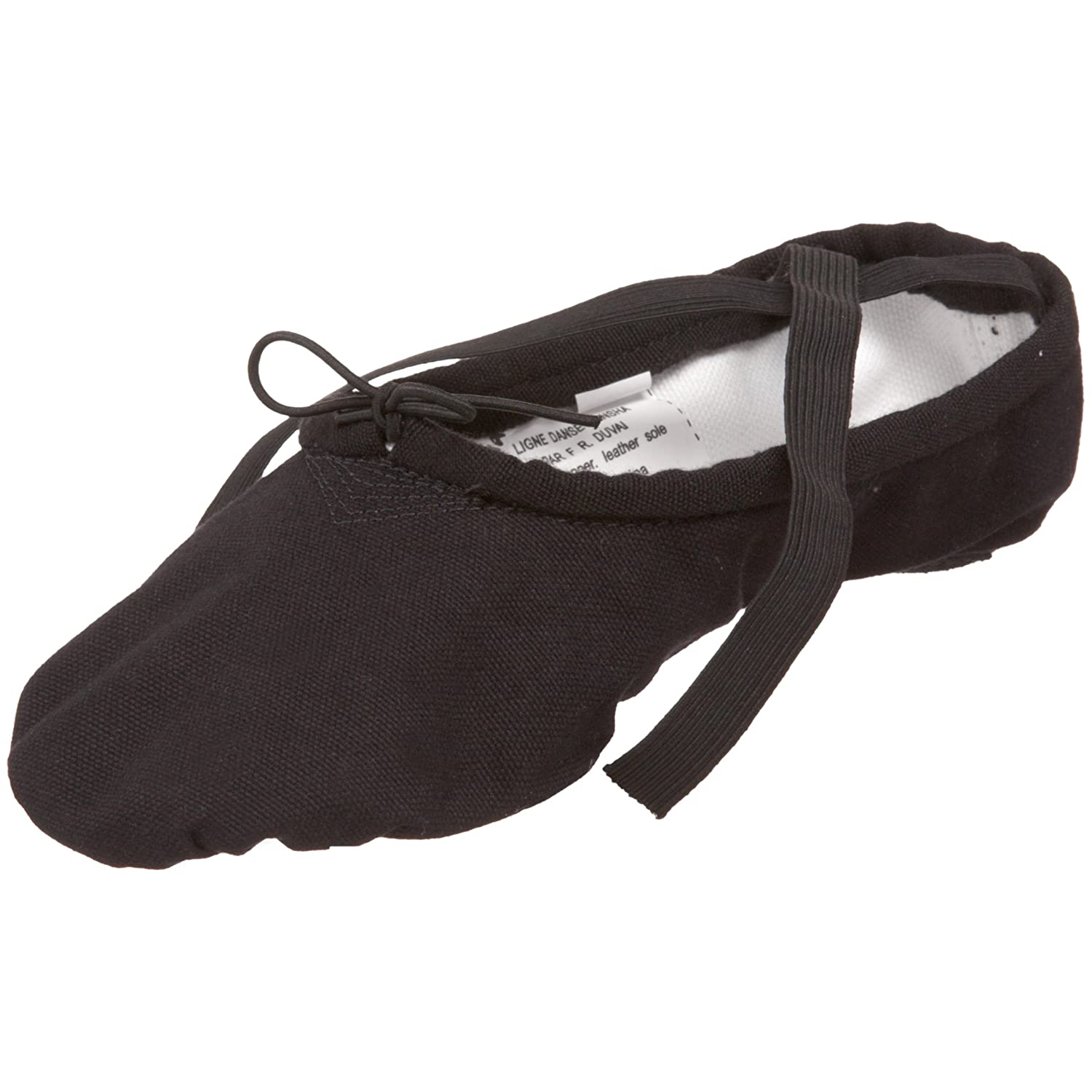 Adult#1 Pro Canvas Split-Sole Ballet Shoes S1C S1CBLK9 W Black 9W