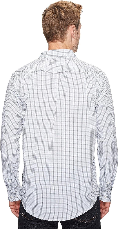 ExOfficio Mens Salida Plaid Long Sleeve Shirt