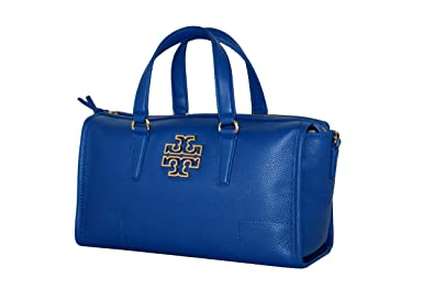 8a54547e099 Image Unavailable. Image not available for. Color  Tory Burch Britten  Satchel Women s Leather handbag ...