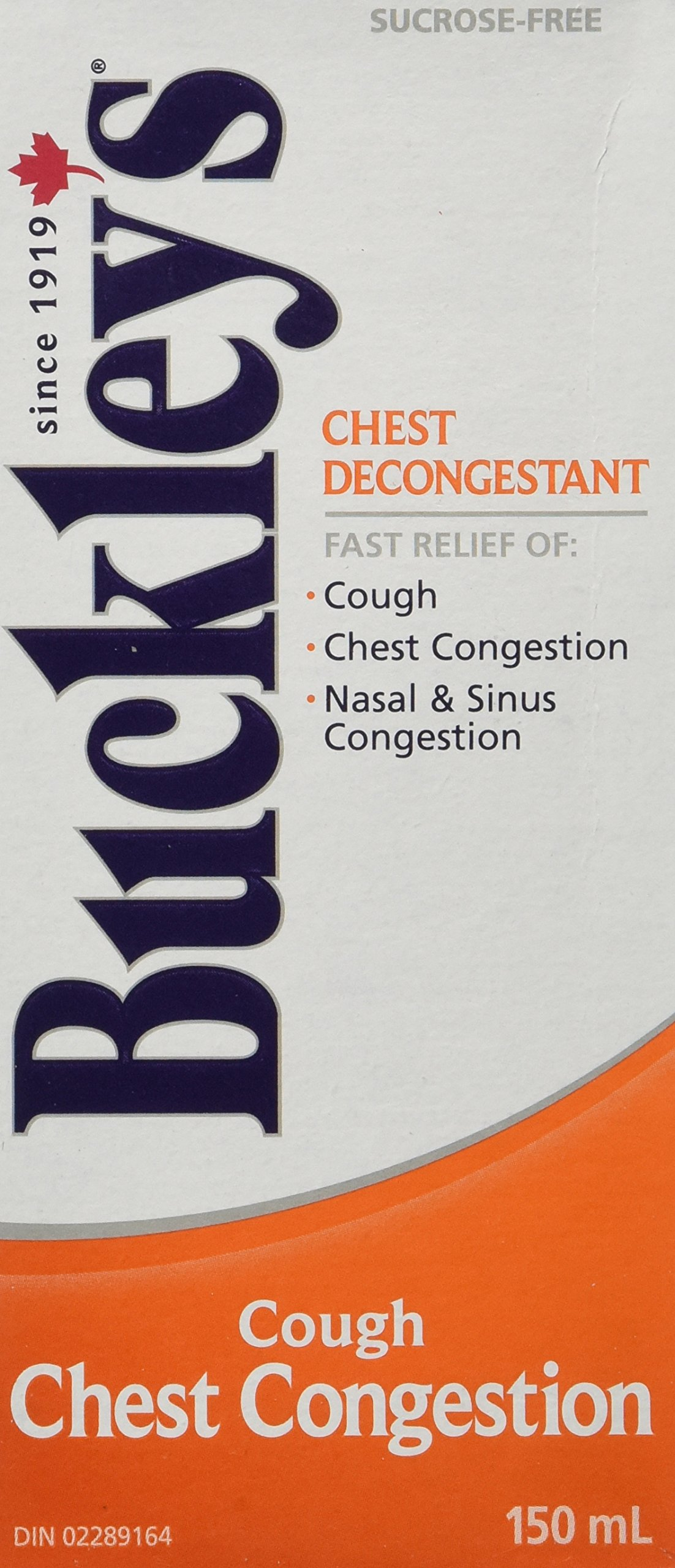 BUCKLEY'S Original 'CHEST DECONGESTANT' Syrup for