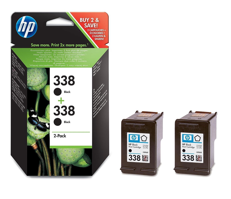 HP 338 2-pack Black Original Ink Cartridges (CB331EE ...