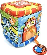 Cubo Mágico do bebê - plush com luz e som kitstar 719