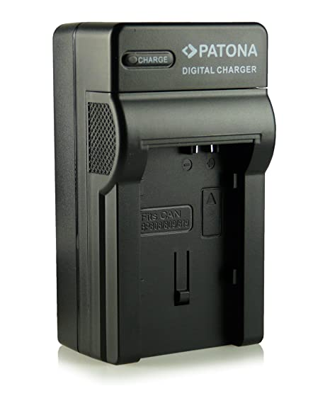 Patona - Cargador para Canon LEGRIA HF G10, HF G25, HF M31, HF M32, HF M36, HF M40, HF M41, HF M46, HF M300, HF M306, HF M307, HF M400, HF M406, HF ...