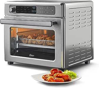 Amazon.com: Oster Digital Air Fryer Oven with RapidCrisp ...