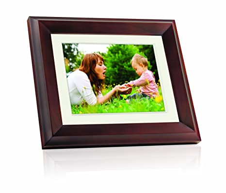 Giinii Gh 8dnp 8 Inch All In One Digital Picture Frame Brown