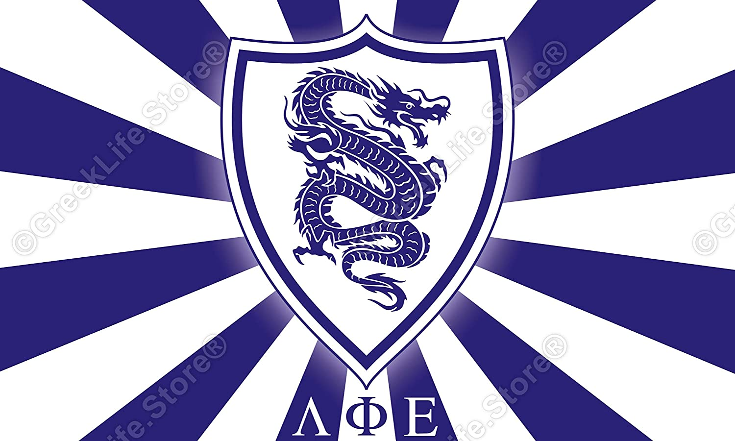 Lambda Phi Epsilon Officially Licensed Computer Tablet Decal Sticker 3x5 inches